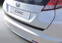 Накладка на задний бампер Honda Civic