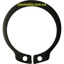 Кольцо стопорное DIN 471, ГОСТ 13942-86 82 наружное эксцентрическое для посадки на вал, фосфатированное