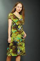 Платье женское шифоновое на подкладке