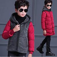 Куртка зимняя на мальчика подростка  , фото 1