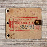 """Кошелек """"Посылка из Нью Йорка"""""""