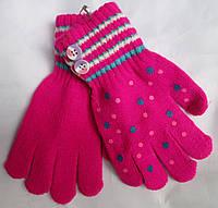 Перчатки детские пуговички Rubi