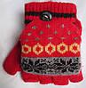 Перчатки-варежки детские узор Rubi