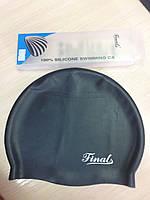 Шапка для плавания Final черная