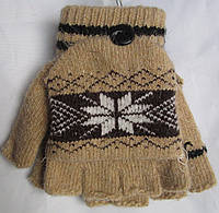 Перчатки-варежки детские узор Rubi, фото 1