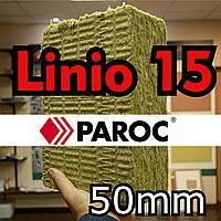 Минвата 50 мм Paroc Linio 15  базальтовая фасадная вата Парок Линио 15 0,216 м.куб./упаковка