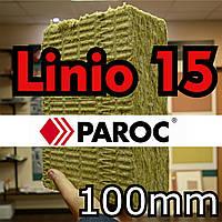 Минвата 100 мм Paroc Linio 15  базальтовая  вата для фасада Парок Линио 15 0,216 м.куб./упаковка