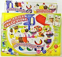 Набор для творчества тесто для лепки Мороженое № 8502