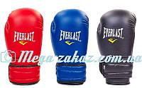 Перчатки боксерские PU Elast Classic 5018 на липучке, 3 цвета: 8-12 унций (кожвинил)