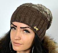 Модная шапка с широкой резинкой, фото 1
