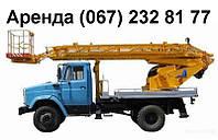 Аренда автовышки на 4 часа в Киеве Услуги автовышки недорого., фото 1