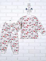 Пижама-манжетка для девочки, байка ПЖ 01202 Татошка