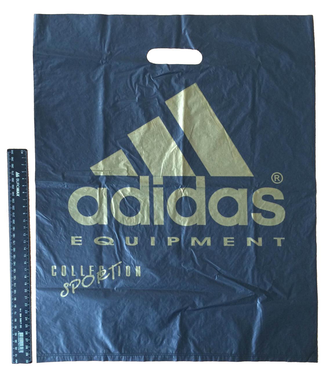 Пакет полиэтиленовый Adidas 40х50 см, 1000 шт.