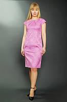 Платье женское розовое