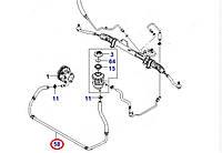 Патрубок гидроусилителя от насоса к рейке Авео 1,5  SQR477F (оригинал) ЗАЗ Украина