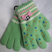 Перчатки  детские бантик Rubi
