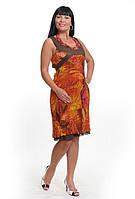 Платье женское из жатого шифона 50-52 р