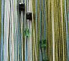 Шторы нити с квадратными камнями (стеклярус) (105)