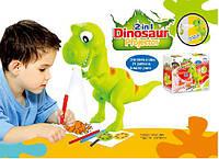 "Проектор ""Динозавр"" 8189 батар, 6 диапозит, 6 водяных фломаст, 21 патерн"