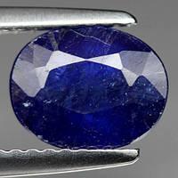 2.49КТ Природный синий сапфир овал