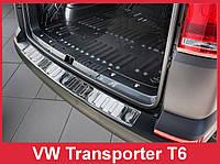 Накладка на задний бампер Volkswagen T6, фото 1