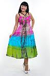 Сарафан женский «деграде» радуга хлопок ПЛ 10058-1, фото 3
