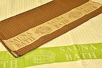 Полотенце вафельное Sauna-Bath 100х160см для бассейна, сауны, бани, спа-процедур