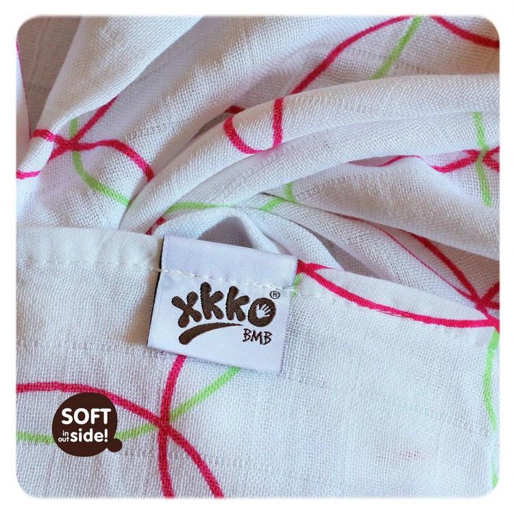 ... Бамбуковые пеленки XKKO® вмв коллекция Круги и квадраты 70x70 , фото 4  ... b32835ab069