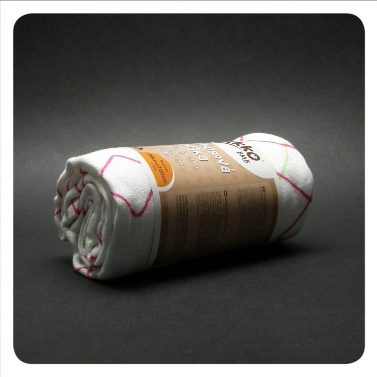 ... Бамбуковые пеленки XKKO® вмв коллекция Круги и квадраты 70x70 , фото 5 89245569895