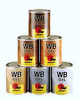 Цветное паркетное масло с твёрдым воском для  деревянных полов   PAVIOLIO 25 WB   Adesiv ( Италия ).