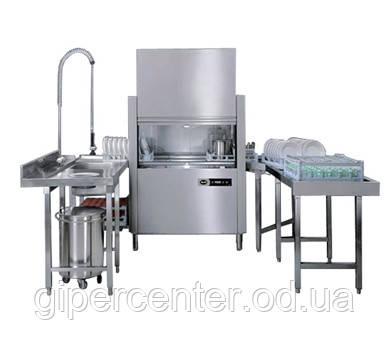Посудомийна машина Apach ARС 100 з продуктивністю 50/100 кас/год або 1800 тарілок/год