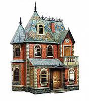 Картонная модель Кукольный дом 283 Умная бумага