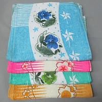 Цветочки 454к полотенце махровое кухня 30х70 см