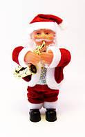 Дед Мороз/Санта-Клаус музыкальный-Саксофон-16,5 см.