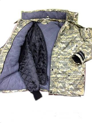 Костюм утепленный камуфляж, фото 2