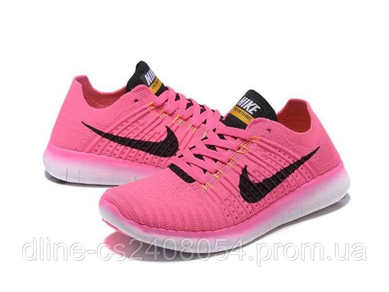 Женские кроссовки Nike Free Run Flyknit Pink