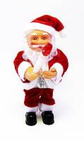Дед Мороз/Санта-Клаус музыкальный-Факел-16,5 см.