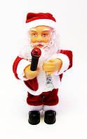 Дед Мороз/Санта-Клаус музыкальный-Микрофон-16,5 см.