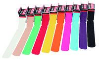 Тейп классический 20 полосок в мотке по 25 см, ширина 5см выбирайте цвета в ассортименте