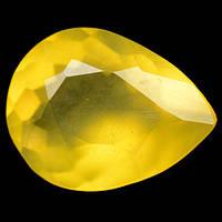 3.65 карат Природный желтый Мексиканский опал