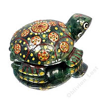 474 кт Природный авантюрин черепаха + сертификат