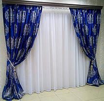"""Комплект штор """"Империя"""" (вышивка), фото 2"""