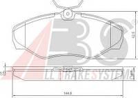 Тормозные колодки дисковые передние A.b.s. на Renault Trafic