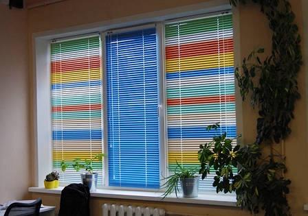 Жалюзи горизонтальные цветные, фото 2