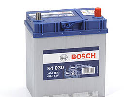 Акумуляторна батарея Bosch S4 12v 40Аһ 330A