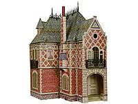 Картонная модель Кукольный дом-2 329 Умная бумага