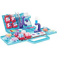Игровой набор - студия Pom Pom Wow! WOW ДИЗАЙНЕР кейс, 75 помпонов, 4 цвета, аксессуары (48540-PPW)