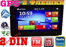 МАГНІТОЛА Pioneer 2DIN, GPS,TV,BT,SD,USB,AUX,4x50W