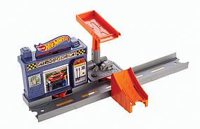 Hot wheels Автогараж супер спускание Workshop Track Builder Mattel 04791