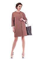 Женский коричневый кардиган (р. 44-58) арт. 922 Тон 13